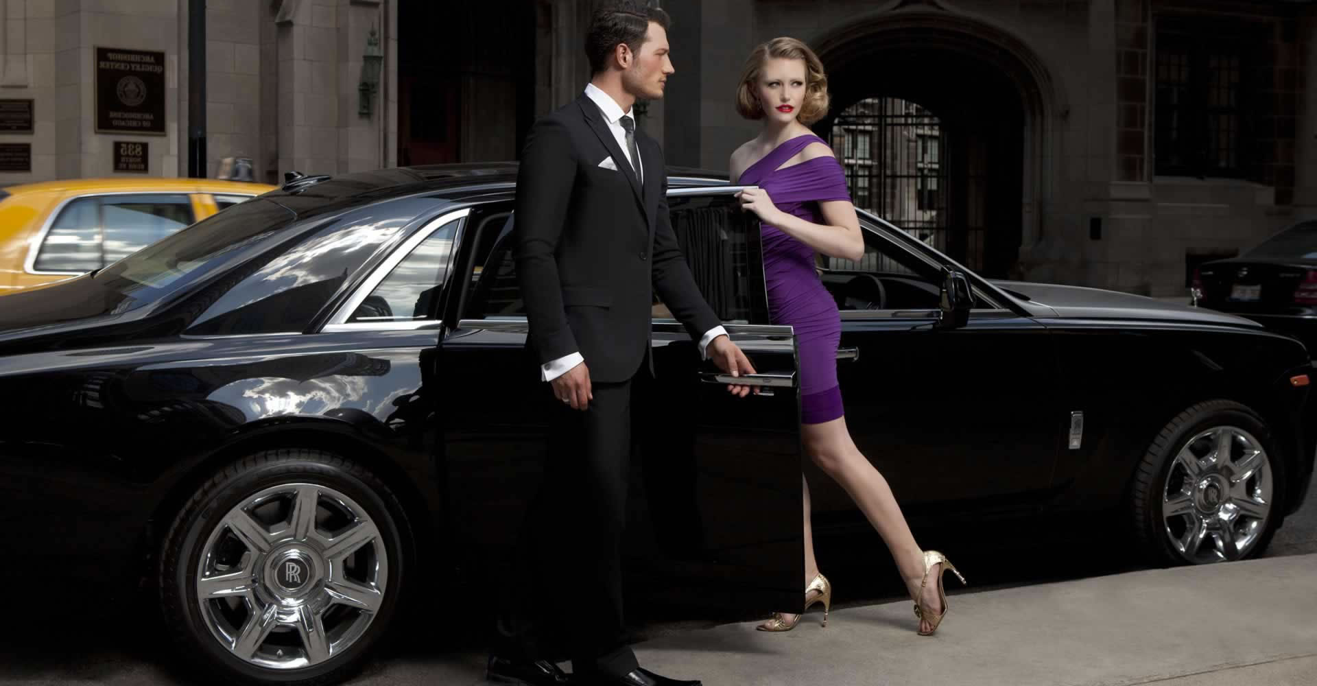 rolls royce and limo hire service