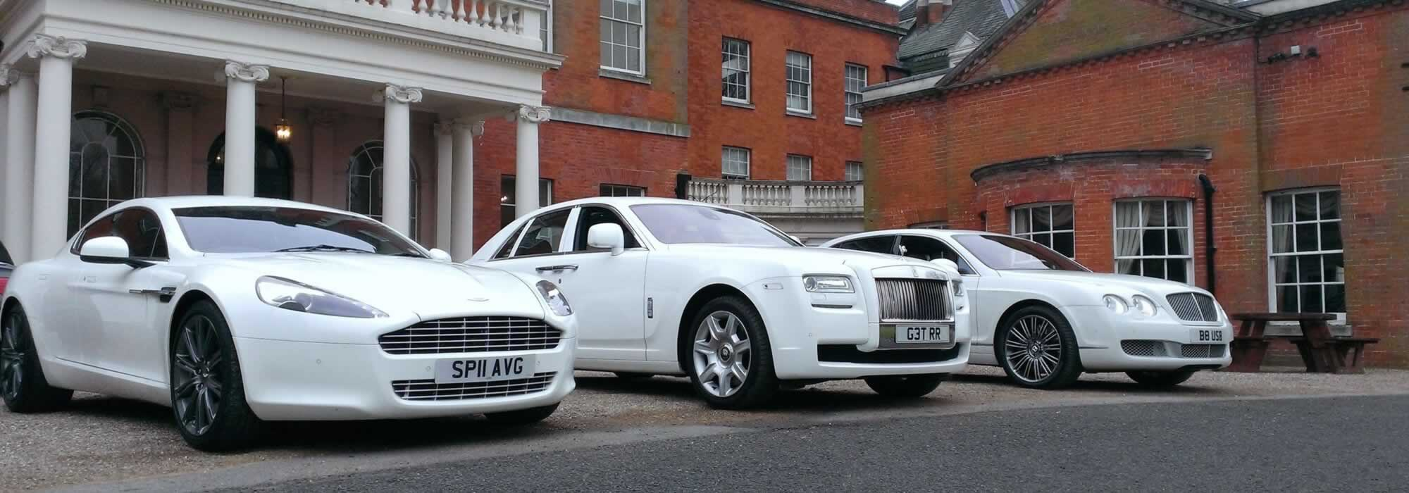 wedding car hire service