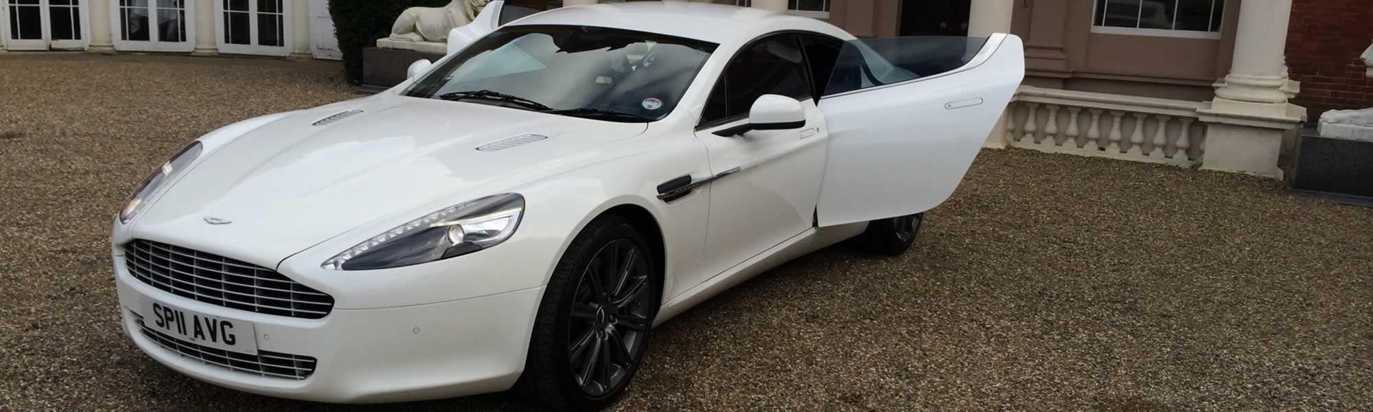 Aston Martin Hire Aston Martin Rapide Wedding Car Hire